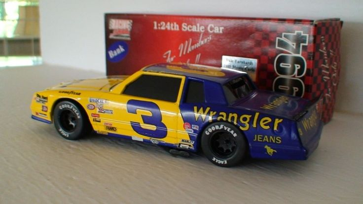 Dale Earnhardt 1985 Wrangler #3 Monte Carlo 1/24 Nascar Collectible #Action