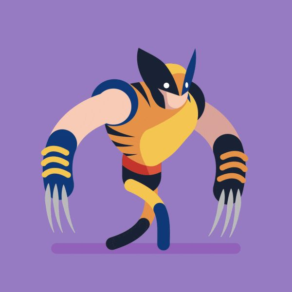 herochan: Wolverine Walking Created by Michael Myers Portfolio || Facebook || Tumblr