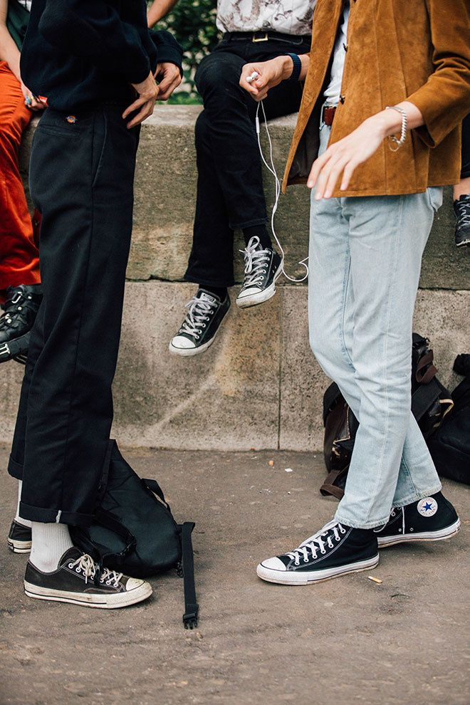 Street looks at Menswear Fashion Week Spring/Summer 2017 in Paris