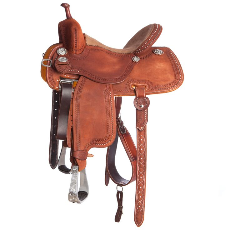 Martin Saddlery Cervi Crown C Snake Border Barrel Racer Saddle Item # NRS-97ROS
