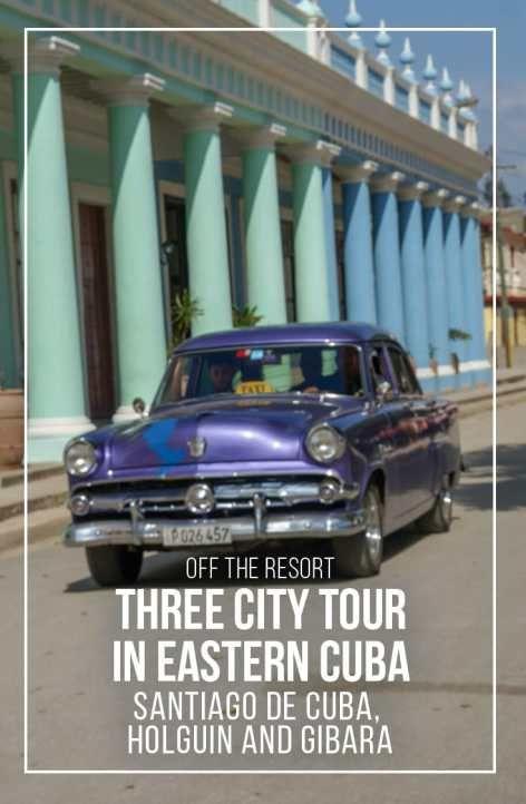 Head off the resort and discover life in the Real Cuba. Our 3 city tour of eastern Cuba: Santiago de Cuba, Holguin and the coastal village of Gibara. | Cuba | off the resort | real Cuba | streets of Cuba | City tour Cuba |