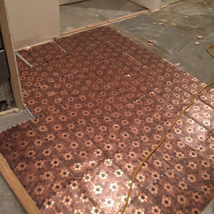 Best 25+ Penny flooring ideas on Pinterest | Pennies floor ...