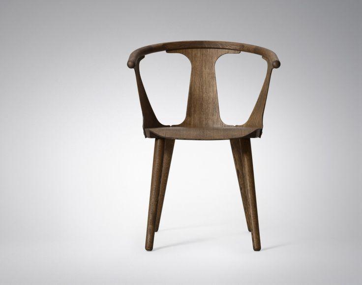 Židle In Between od &tradition, kouřově olejovaný dub