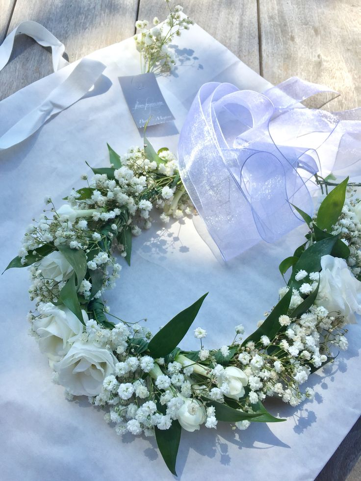 LL deco couronne pour fleurs-privees.com
