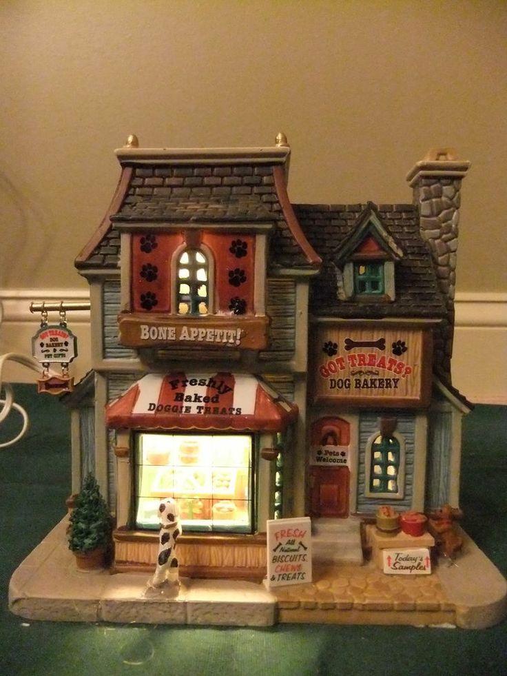Mervyn's Village Square Christmas Village Building PET