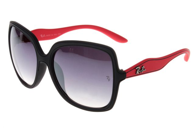 11b9837f46e Ray Ban Jackie Ohh RB2085 Sunglasses Red Black Frame Gray lens
