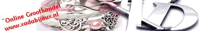 """XaDa Bijoux  Online Bijoux Groothandel    Bovenop onze zeer lage prijzen ontvangt u de gehele maand juni over uw eerste bestelling:  10% Korting*   *U ontvangt uw kortingscode na aanmelding en goedkeuring van uw registratie.  Registeren kunt u via de pagina """"Contact""""."""