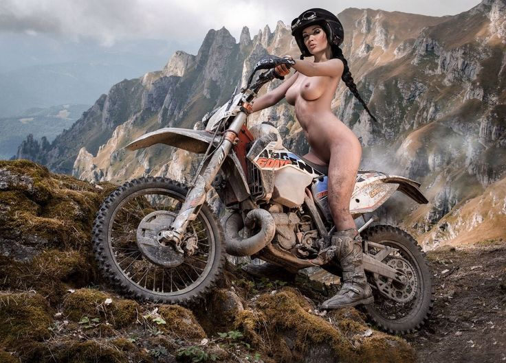 Off Road Motocross Babe