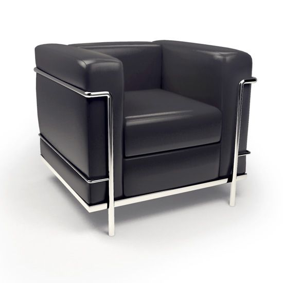 1000 ideas about lc2 on pinterest charlotte perriand for Le corbusier chair history