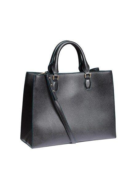 Black tote, £29.99 at H&M