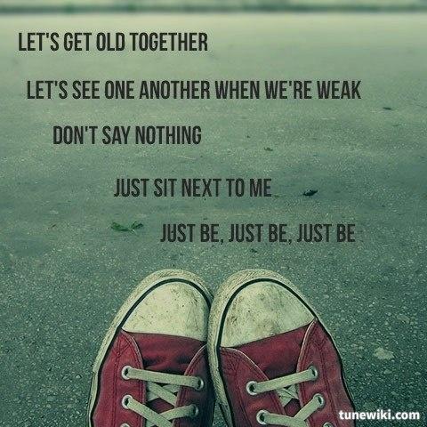 """-- #LyricArt for """"Just Be"""" by Paloma Faith"""