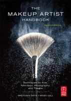 The Makeup Artist Handbook [e-resource]: Techniques for Film, Television, Photography, and Theatre by Gretchen Davis and Mindy Hall. Get up-to-date information on techniques like air brushing makeup for computer-generated movies, makeup effects, mold-making, lighting, from movies like Star Trek and Pearl Habour.