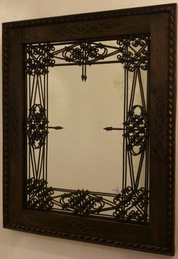 16 Best Images About Wrought Iron Mirrors On Pinterest Rustic Wood Wall Mirrors And Mirror