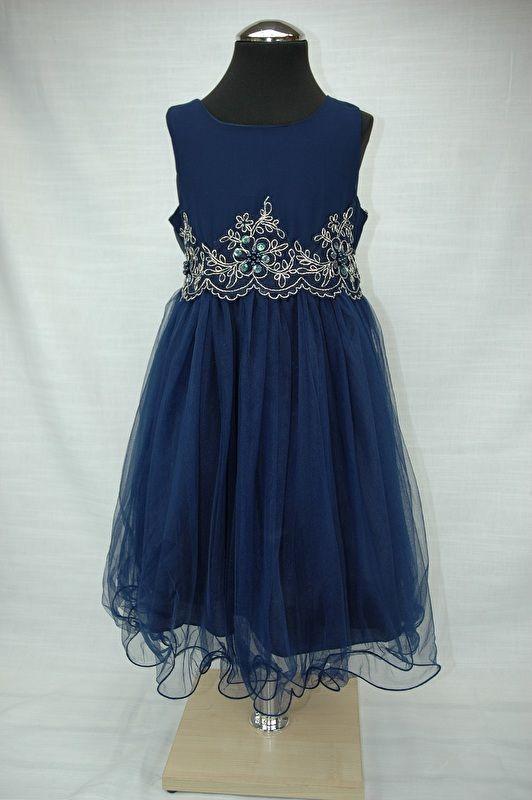 Jurk Elsa royal blue