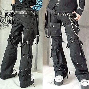 K073 Lolita Kera Visual Kei Punk Gothic Pants | eBay