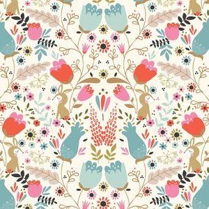 Tea and Sympathy - Beautiful Garden Girl - Garden Tails in Spring