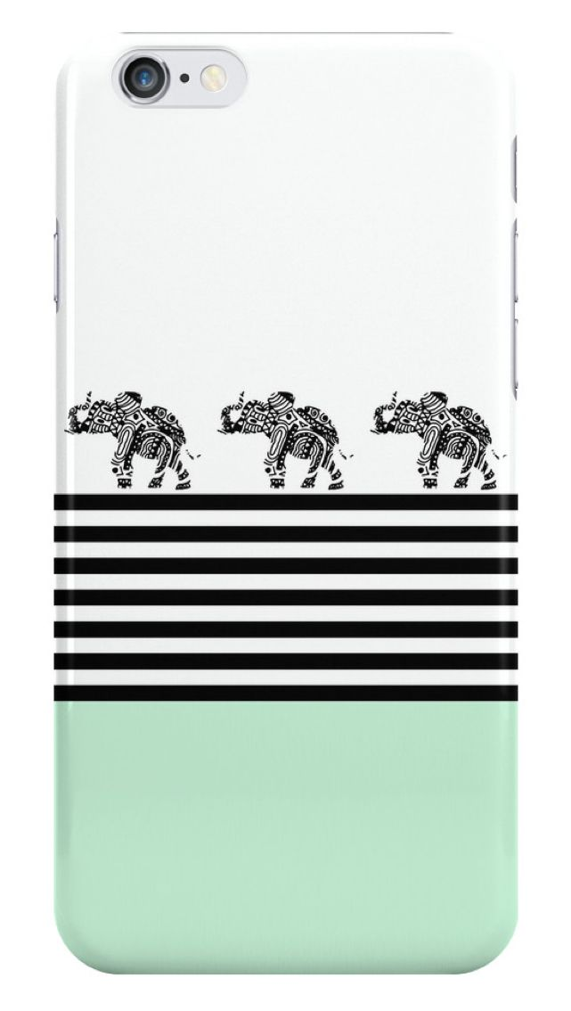 ELEPHANTS AND STRIPES MINT by Monika Strigel iPHone Case on @redbubble $25 #mint #elephant #cute #stripes #phonecase #phonecover #samsungcover #galaxycase #elephants #monikastrigel