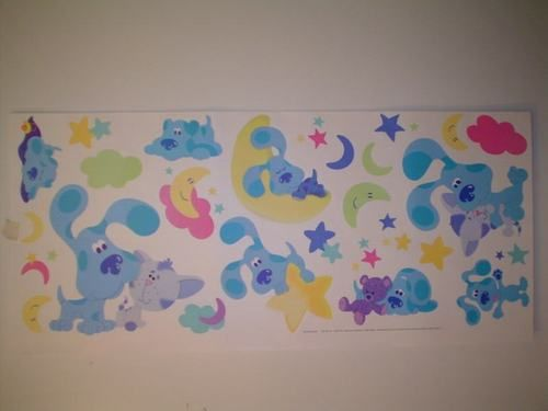Blues clues on pinterest wall art decor growth charts and room