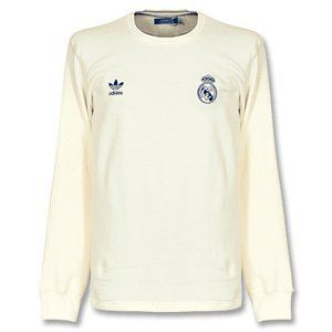 29b1694d8 adidas Originals Real Madrid Home L S Retro Shirt by adidas.  59.99 ...