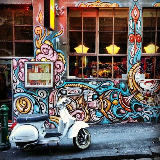 Hosier Lane #Melbourne #graffiti #streetart | Flickr: Intercambio de fotos