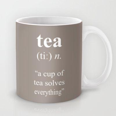 Tea Mug by cafelab - $15.00