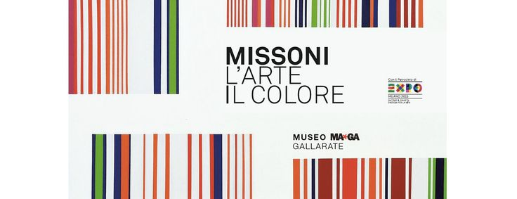 """Al Maga di Gallarate la mostra """"#Missoni. L'arte, il colore"""""""