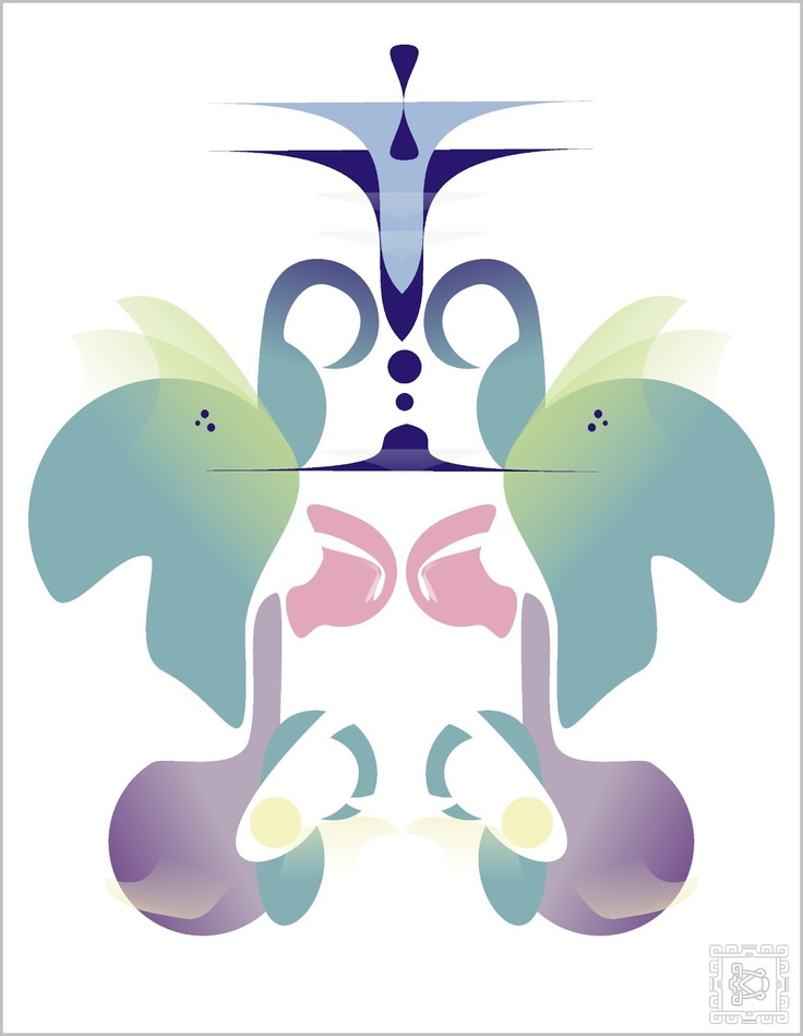 "Illustration ""Abstract Butterfly 1"" by DreamCode"