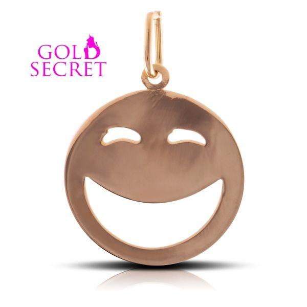 Happy by Gold Secret. Colgante en Oro Amarillo 18k. Ref:101030-1 PVP 75 €