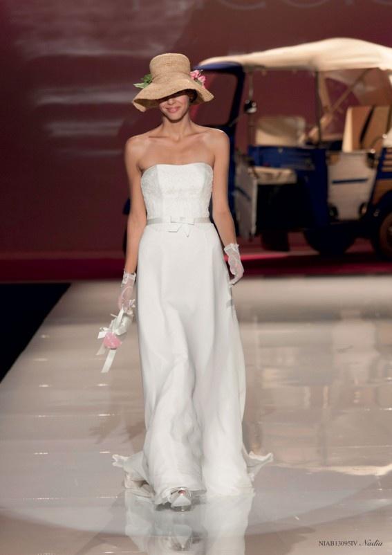 Collezione abiti da sposa #Nicole, abito da #sposa modello Nadia