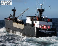 F/V Time Bandit ~ The Hillstrand Brothers ~ Captain Johnathan (King Crag) ~ Captain Andy (Opilio Crab) ~  Neal Hillstrand (Engineer) ~ www.timebandit.tv/