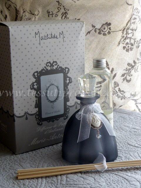 "Diffusore profumo d'ambiente serie ""Maria Antonietta"" profumo Coeur d'Ambre Mathilde M."