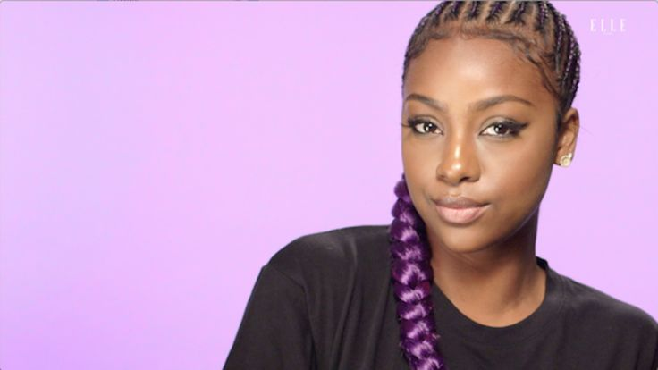 Braided Ponytail with Justine Skye: Learn how to create Justine Skye's braided ponytail look.