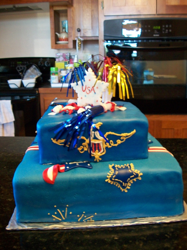 Cake Decorations For July 4th : 56 best 4th of july cake ideas images on Pinterest