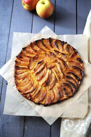 Tarte fine aux pommes (2)