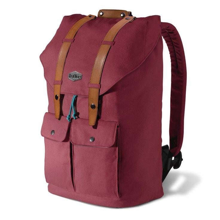 Trublue The Original Toscana Laptop Canvas Backpack