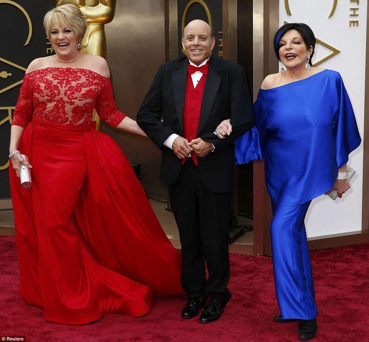 Sobre el arco iris: Lorna Luft, Liza Minnelli y Joey estaban en la alfombra roja para ver un tributo a The Wizard Of Oz y su difunta madre Judy Garland