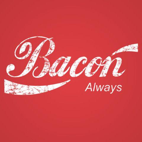 Bacon Always Men's T-Shirt