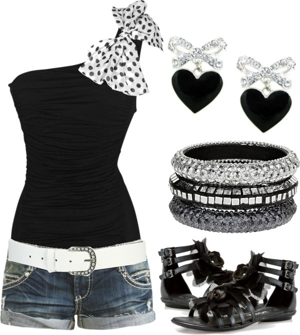 by karlibugg on Polyvore I love this whole outfit! It is so cute!