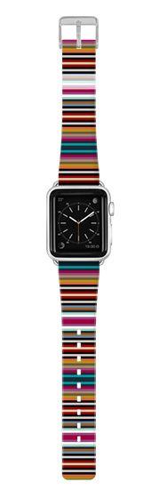 Casetify Apple Watch Band (38mm) {{case}} - town stripe apple watch band by Sharon Turner #Casetify