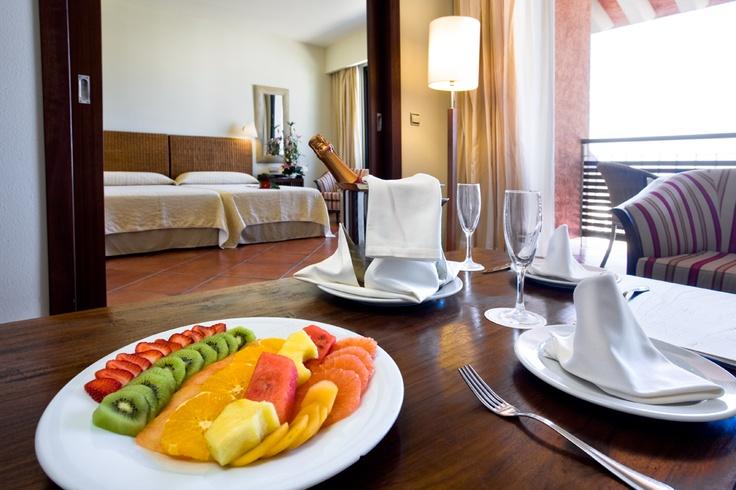 Junior Suite con vistas al mar del hotel Puerto Antilla, Islantilla, España