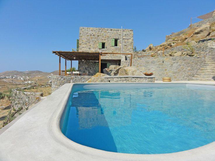 Villa Irida outside pool