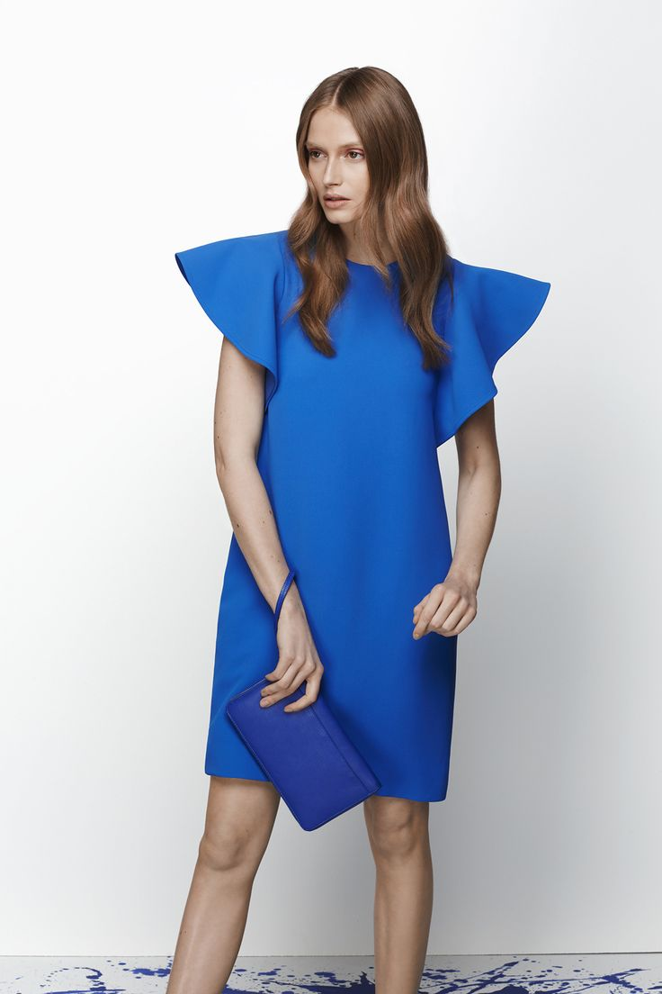 Statement sleeves make this dress perfect for a summer cocktail party.