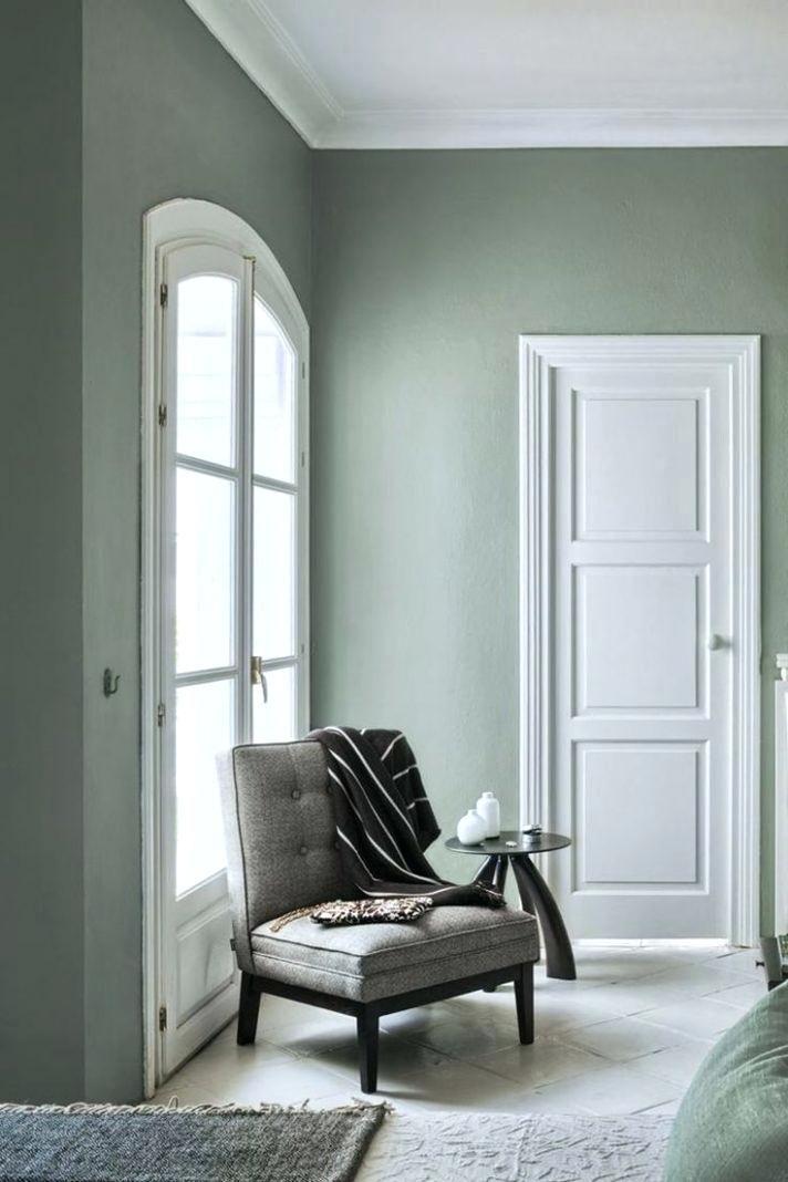 Image Result For Pale Gray Green Walls Dark Gray Sofa Living Room Green Sage Green Bedroom Green Rooms