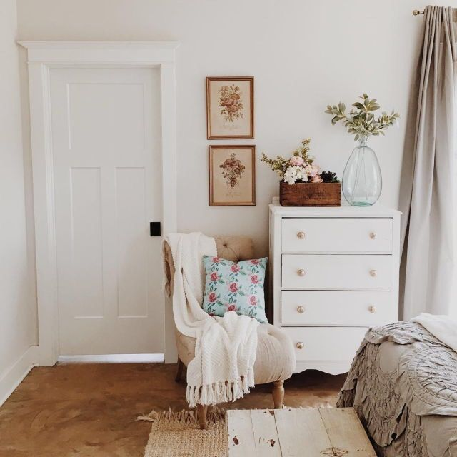 Nursery chair - cozy mother's nook