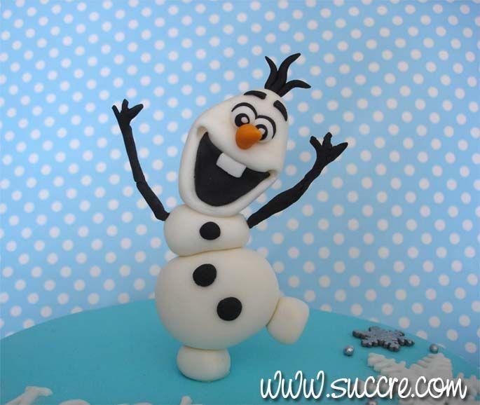 Tarta Frozen Elsa Anna y Olaf