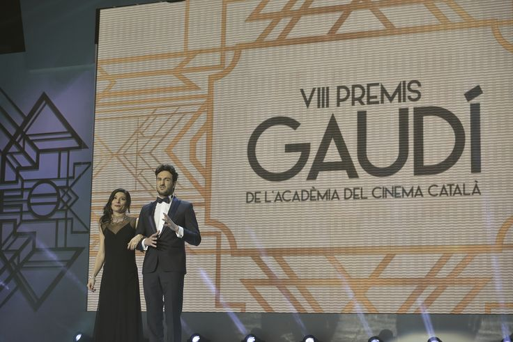 Susanna Barranco en Natalie Capell para los Premios Gaudí...