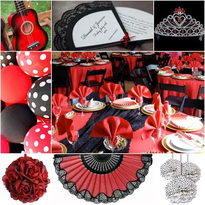 Flamenco Sweet Fifteen Theme #quinceanera