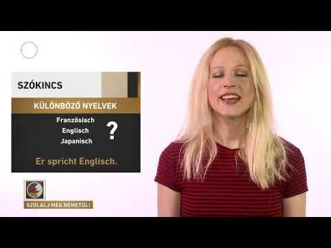 Szólalj meg Angolul 46. - YouTube