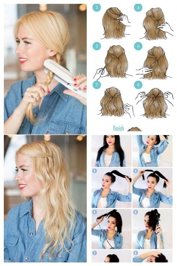 Coole Und Einfache Diy Frisuren 5 Minuten Burofreundliche Frisur Schnell Und Einfachefrisuren Easyhairstylesforteens Improve Yourself