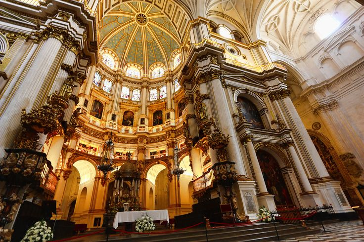 Granada cathedral in Spain #trivo